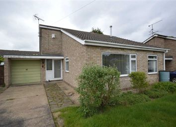 Thumbnail 3 bed bungalow for sale in Mallard Close, Skellingthorpe, Lincoln