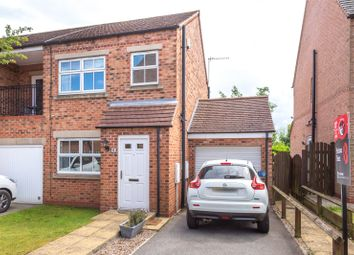 Thumbnail 2 bed end terrace house for sale in Whitley Farm Close, Whitley, Goole