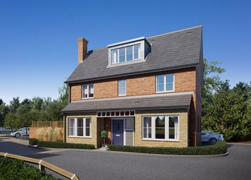 Thumbnail 4 bed detached house for sale in Post Office Road, Broomfield Village, Chelmsford