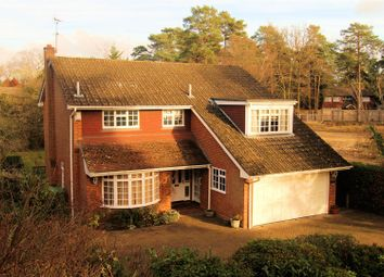 Thumbnail 4 bed detached house for sale in Pond Road, Hook Heath, Woking
