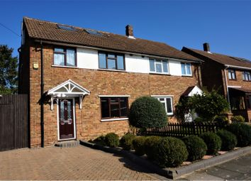 Thumbnail 4 bed semi-detached house for sale in Denton Road, Welling