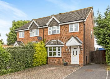 Thumbnail 3 bed semi-detached house for sale in Redwood Grove, Havant