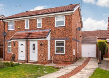 Thumbnail 2 bed semi-detached house for sale in Seaton Close, York