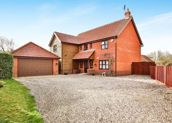 Thumbnail 4 bed detached house for sale in Shop Street, Whinburgh, Dereham