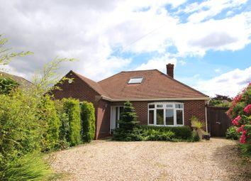 Thumbnail 3 bedroom detached bungalow for sale in Osborne Road, Warsash, Southampton