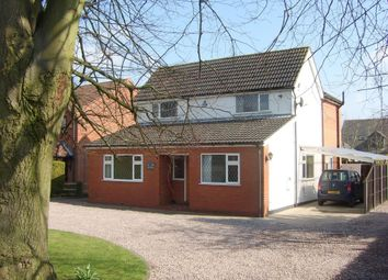 Thumbnail 4 bed detached house for sale in Grantham Road, Waddington, Lincoln