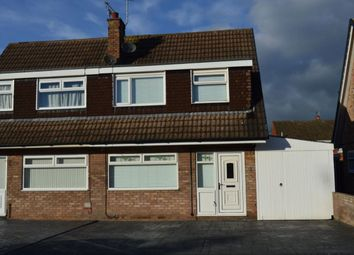 Thumbnail 3 bedroom semi-detached house to rent in Langdale Road, Wistaston, Crewe