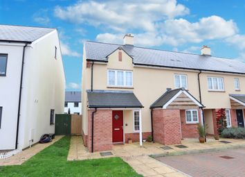 Thumbnail 2 bed end terrace house for sale in Gerbera Way, Cullompton