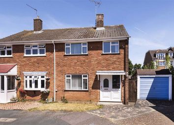 Thumbnail 3 bed semi-detached house for sale in Mead Close, Swanley
