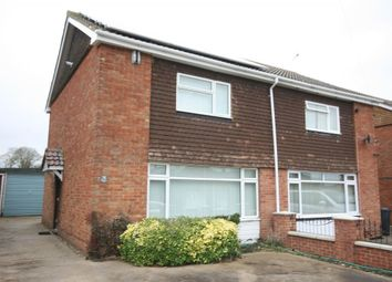 Thumbnail 3 bed semi-detached house to rent in Brasenose Road, Didcot