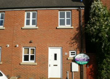 Thumbnail 2 bed end terrace house to rent in Cerne Avenue, Gillingham, Dorset