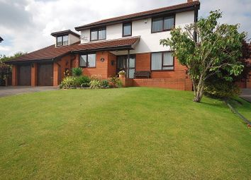 Thumbnail 5 bed detached house for sale in The Paddocks, Lodge Hill, Caerleon, Newport