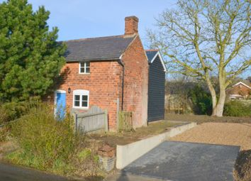 Thumbnail 3 bed semi-detached house for sale in Lower Road, Hundon, Sudbury