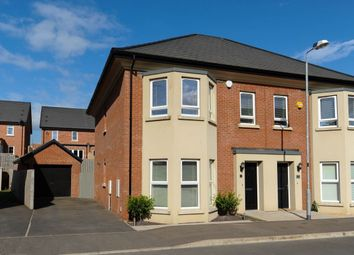 Thumbnail 3 bedroom semi-detached house for sale in Millmount Village Crescent, Dundonald, Belfast