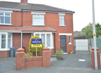 Thumbnail 3 bed semi-detached house for sale in Scudamore Crescent, Blackpool