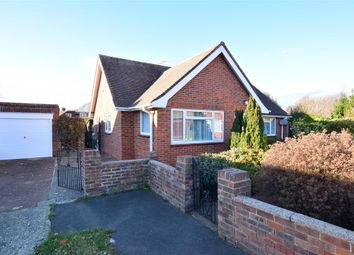 Thumbnail 2 bedroom detached bungalow for sale in Kirkland Close, Rustington, West Sussex