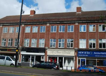 Thumbnail 3 bed flat to rent in Chester Road, Sutton Coldfield