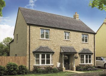 "Thumbnail 4 bed detached house for sale in ""The Longleet"" at Ettington Road, Wellesbourne, Warwick"