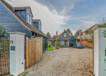 Thumbnail 4 bed detached bungalow for sale in Pepper Hill, Great Amwell, Hertfordshire