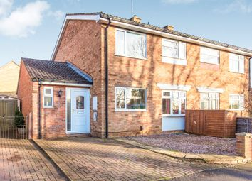 Thumbnail 4 bed semi-detached house for sale in East Langham Road, Raunds, Wellingborough