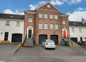 Thumbnail 3 bed town house for sale in Lineybrook Lane, Bangor
