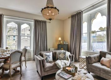 Thumbnail 2 bed flat for sale in The Gables, Albert Road, Colne, Lancashire