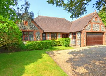 Thumbnail 3 bed detached bungalow for sale in Ockham Road South, East Horsley, Leatherhead