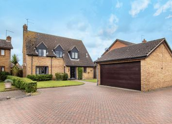 Thumbnail 4 bed detached house for sale in Nottingham Way, Peterborough