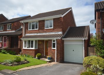 Thumbnail 4 bed detached house for sale in Kenbury Drive, Alphington, Exeter