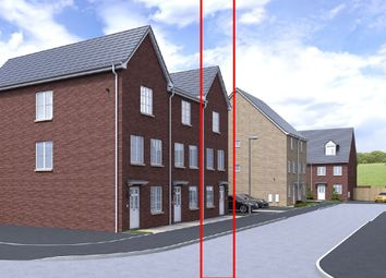 Thumbnail 4 bed town house for sale in Milfraen View, Brynmawr, Ebbw Vale