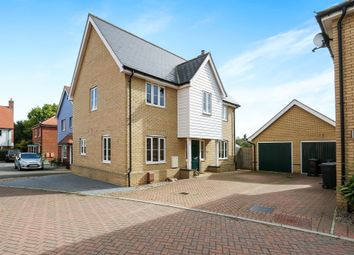 Thumbnail 4 bed detached house for sale in Greenfinch Close, Stowmarket