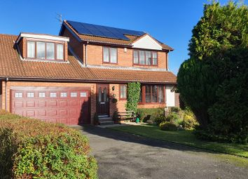 Thumbnail 4 bed detached house for sale in Hazelmere Dene, Seghill, Cramlington