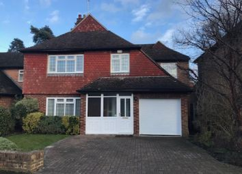 Thumbnail 4 bed detached house to rent in Hamilton Avenue, Pyrford, Woking, Surrey
