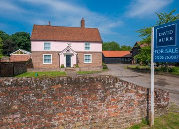 Thumbnail 4 bedroom farmhouse for sale in Mount Bures, Bures, Suffolk