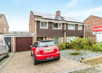 Thumbnail 3 bed semi-detached house for sale in Longwood Close, Plympton, Plymouth
