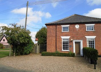 Thumbnail 3 bed semi-detached house for sale in Common Road, Shelfanger, Diss