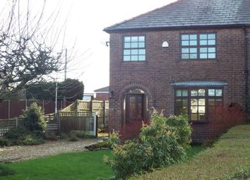 Thumbnail 3 bed semi-detached house to rent in Goose Lane, Hatton, Warrington