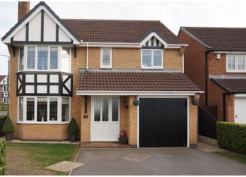 Thumbnail 4 bed detached house for sale in Morton Grove, Worksop