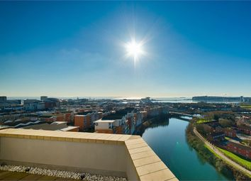 Thumbnail 2 bed flat for sale in Marseille House, Hansen Court, Century Wharf, Cardiff
