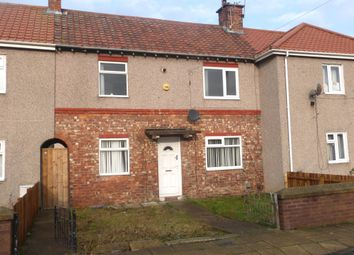 Thumbnail 3 bed terraced house for sale in Raby Gardens, Hartlepool