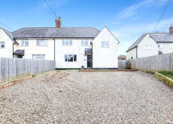 Thumbnail 4 bed semi-detached house for sale in Station Road, Overton, Basingstoke