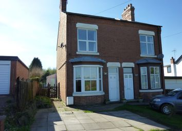 Thumbnail 2 bed semi-detached house for sale in Peckleton Lane, Desford, Leicester