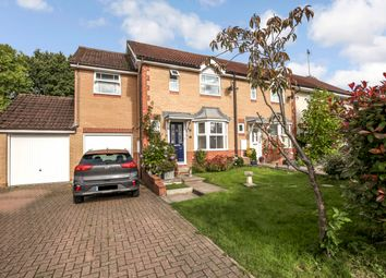Thumbnail 3 bedroom end terrace house for sale in Goldfinch Close, Horsham