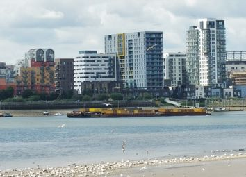 Thumbnail 3 bed flat for sale in Platinum Riverside, Olympian Way, Greenwich, London