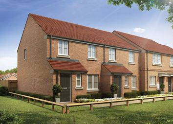 "Thumbnail 3 bed semi-detached house for sale in ""The Marston"" at Honeysuckle Way, Sowerby, Thirsk"
