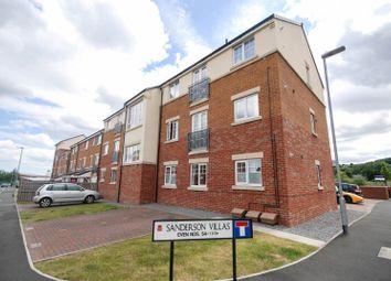 Thumbnail 2 bed flat for sale in Sanderson Villas, St James Village, Gateshead
