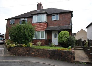 Thumbnail 3 bed semi-detached house for sale in Sneyd Avenue, Leek, Staffordshire