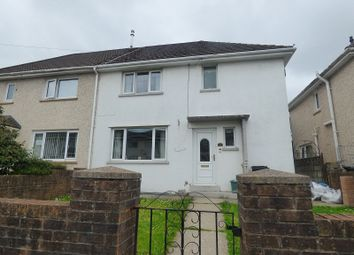 Thumbnail 3 bed semi-detached house for sale in Brynawel, Cimla, Neath .