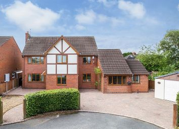Thumbnail 4 bed detached house for sale in Squirrel Hayes Avenue, Knypersley, Stoke-On-Trent