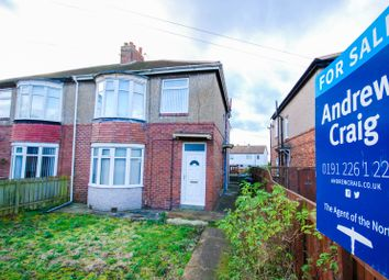 Thumbnail 1 bed flat for sale in Marlborough Crescent, Wrekenton, Gateshead